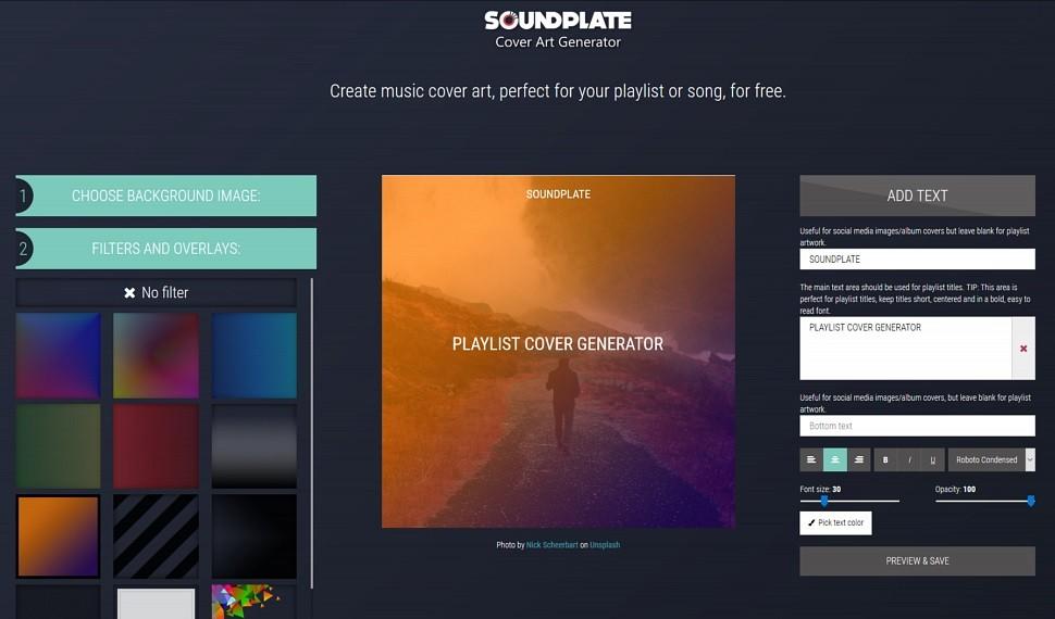 Soundplate Covers screenshot thumbnail.